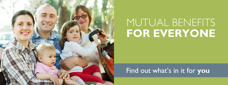 Mutual Benefits slider