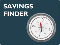 use the Savings Finder to help select the best savings account to your needs