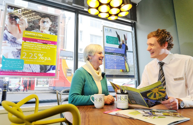 Hinckley and Rugby Building society opens its new looik branch in Rugby's town centre