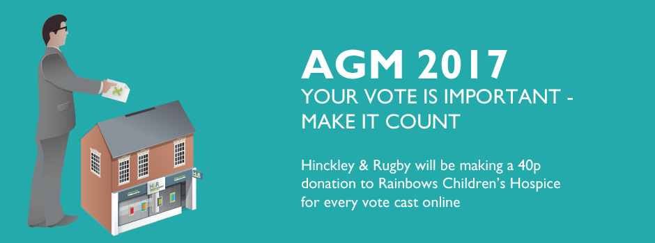 AGM 2017 - Your vote is important