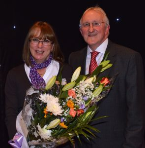 Rugby Customer Assistant Jeanette celebrates 30 years of service