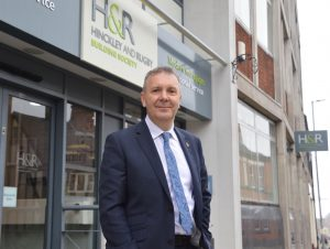 Colin Fyfe is the new chief executive of Hinckley & Rugby Building Society