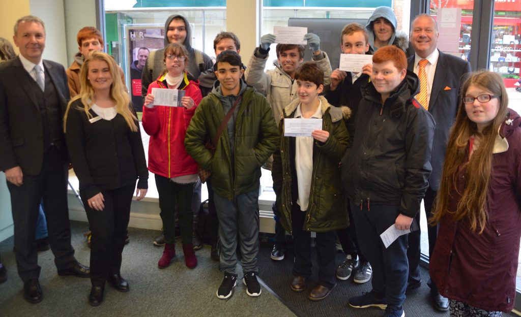 WiseUp Session with students from Dorothy Goodman School