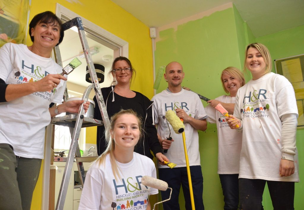HRBS Volunteers at Barwell Community House