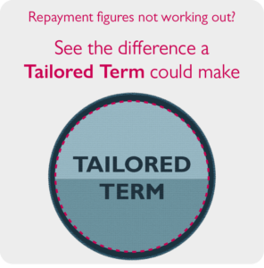 Link to Tailored Term mortgages page